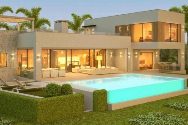 5 Sovrum, 5 Badrum Villa Till Salu i Mirabella Hills, Benahavis