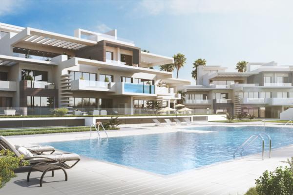 2 Sovrum, 2 Badrum Lägenhet Till Salu i La Meridiana, Marbella Golden Mile