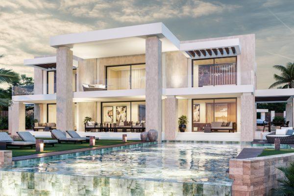 5 Sovrum, 5 Badrum Villa Till Salu i Marbella Golden Mile